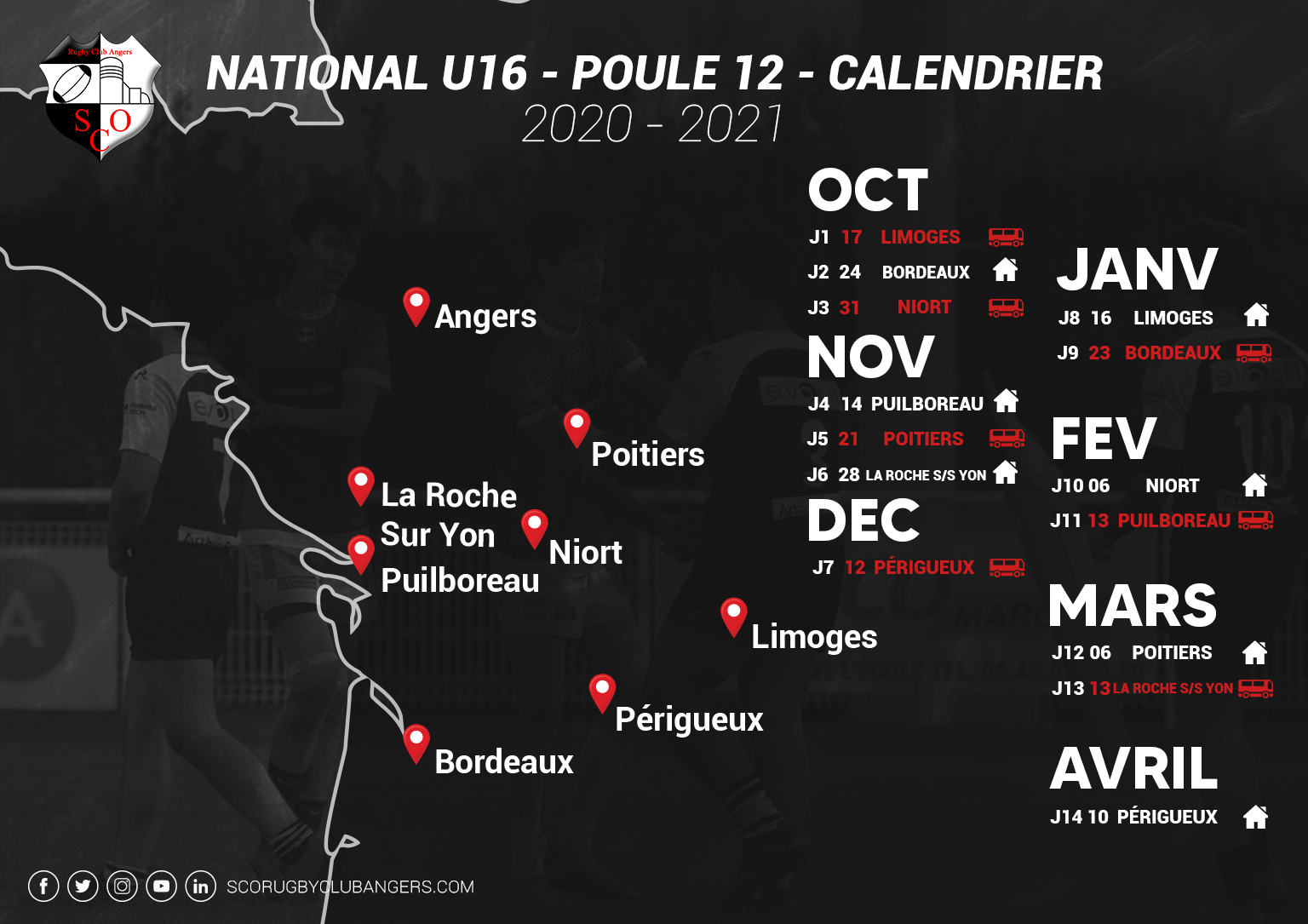 Poule championnat National U16
